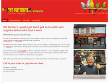 Tablet Preview of my-petpartners.co.uk